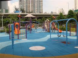 play area outdoor rubber floor mat playground kids rubber flooring