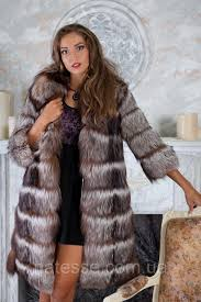 fur coat a short fur coat a vest from the silver fox of natali of silver fox fur coat jacket vest gile