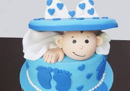 Baby Birthday Cakes For Boys Birthdaycakeforkidscf