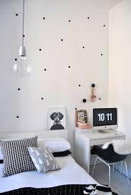 image of polka dot wall decals