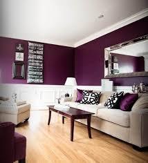 Image of: Aubergine color for livingroom