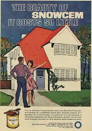 Snowcem Colour Chart Snowcem Vintage Interior Decorating Ads Suburban House