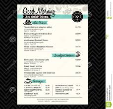 breakfast menu template breakfast menu design ideas google search menu design