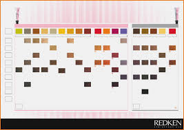 Redken Shades Eq Cream Color Chart Best Picture Of Chart