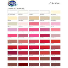 Craft Paint Conversion Chart 25 Prototypical Deco Art Americana Acrylic Paint Chart