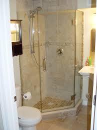 master bathroom corner showers. Tiled Corner Shower Except With Pennies On The Floor Of Master Bathroom Showers