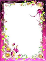 Frames For Photoshop Frames For Photoshop Flower Paradise