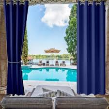 outdoor curtains window treatments