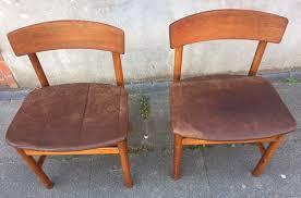 oak bm 236 side chairs by børge
