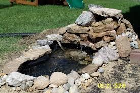 pond waterfall 1