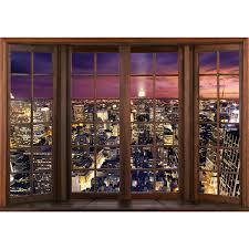 Fenster Zu New York Vlies Foto Wandtapete Xxl Dekoration Runa 9384cp
