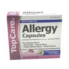 TopCare Complete Allergy Medicine Capsules (24 ct) from Bashas ...
