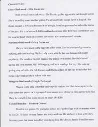 cover letter example of character sketch essay example character   cover letter character sketch reverse engineer your favorite writers to original character by mingmingexample of character