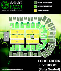 echo arena seating plan