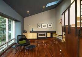 sloped ceiling recessed lighting contemporary