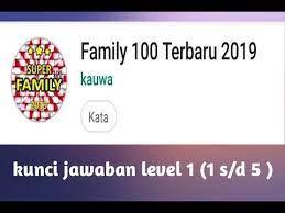 Kunci jawaban family 100 level 3 pernahkah anda mendengar atau menonton kuis family 100 di televisi. Kunci Jawaban Family 100 2020 Cara Golden