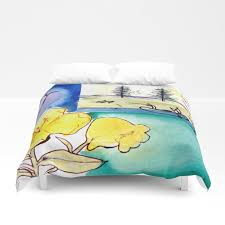 micmac indian legend canada by kay lipton duvet cover