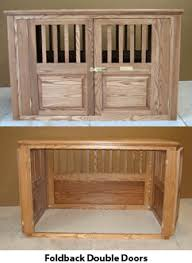 wooden dog crate furniture. Side Entry With Fold-Back Double Doors. Wood Dog Wooden Crate Furniture N