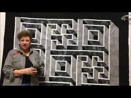 Labyrinth Quilt Pattern Free New Sunshine Sewing And Quilting New Labyrinth Class YouTube