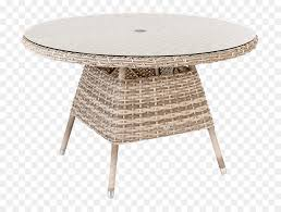 table garden furniture wicker glass dining table