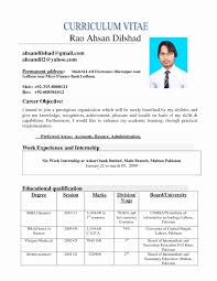50 New Resume Format Download In Ms Word 2010 Resume Writing