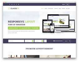 website advertisement template best wordpress classifieds directory themes 2018 colorlib