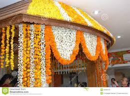 Wedding Flowers Decoration A Kerala Wedding Flower Decoration Editorial Photography Image