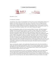 Letter of Recommendation Sample - How to Write a Recommendation Letter