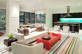 cool lights living. Cool Light Fixture Ideas In Modern Kitchen And Living Room With Pop Of Green Neon Image Lights N