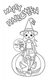 Halloween Witch Coloring Pages Wwwallanlichtmancom