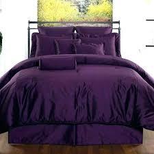 purple satin comforter king dark purple satin comforter