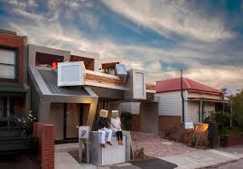 Townhouse Designs Melbourne Duckbuilds Exploding Townhouses More Contextual And Sustainable