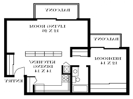 Small One Bedroom Apartment Floor Plans Home Design 85 Charming 2 Bedroom Apartment Floor Planss
