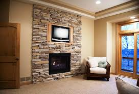 18 photos gallery of best faux stone fireplace