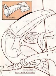 Intarsia Patterns Amazing Toucan Intarsia Patterns WoodArchivist