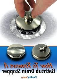 how to remove bathtub drain stopper bathtub remove bathtub drain stopper