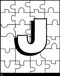 Small Picture Letter J Coloring Page