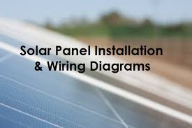 solar panel wiring & installation diagrams electrical tech off grid solar power system wiring diagram solar panel wiring & installation diagrams