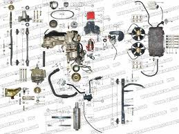 roketa gk engine and exhaust parts
