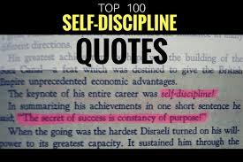 Discipline Quotes Mesmerizing 48 Inspirational Quotes On SelfDiscipline The STRIVE