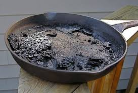 Resultado de imagem para Learn the trick ... Burned pans, never again!