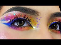 new eye makeup tutorials pilation 2018 rhinestones in fantasy eye makeup part 66