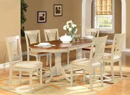 Oval Kitchen Table And Chairs 9 Piece Dining Room Table Set Dining Table Plus 8 Dining Chairs