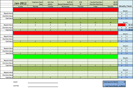 Excel Employee Time Sheet Timesheet Templates Excel For Employee Management