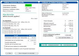 Family Responsibility Office Payment Chart Patient Responsibility Calculator Aam