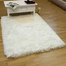 large white fluffy rug best decor things bath rugs bathroom size anti skid gy area