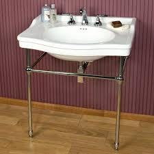 home interior odd console bathroom sink 35 janson porcelain from console bathroom sink