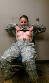 Nude us military women