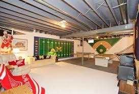 game room lighting ideas. contemporary game room with columns carpet exposed beam flush light high ceiling lighting ideas i
