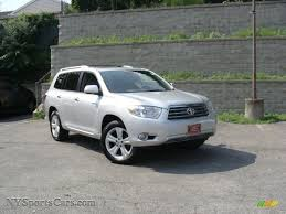 2008 Toyota Highlander Limited 4WD in Classic Silver Metallic ...